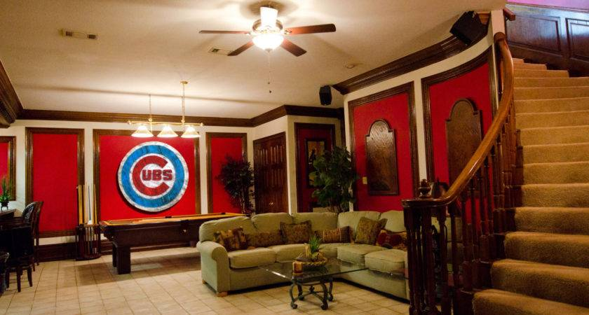 Chicago Cubs Handmade Distressed Wood Sign Vintage Art