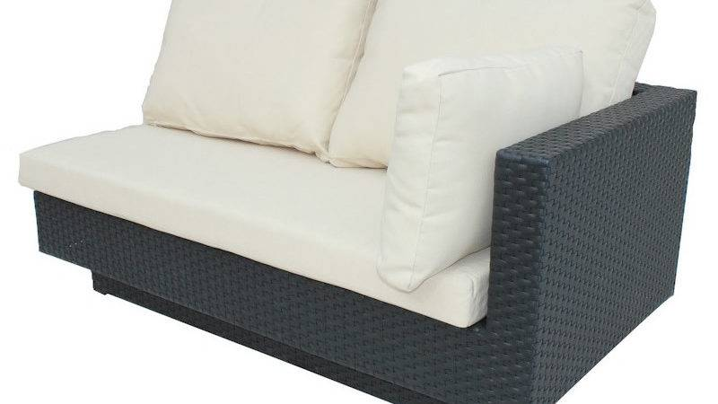 Chicago Two Seater Sofa Seat Pad Back Cushions