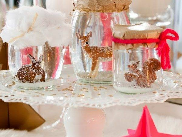 Chicdeco Blog Hot Pink Gold Christmas Decorations