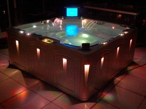 China Jacuzzi Spa Hot Tub Pool Elegance