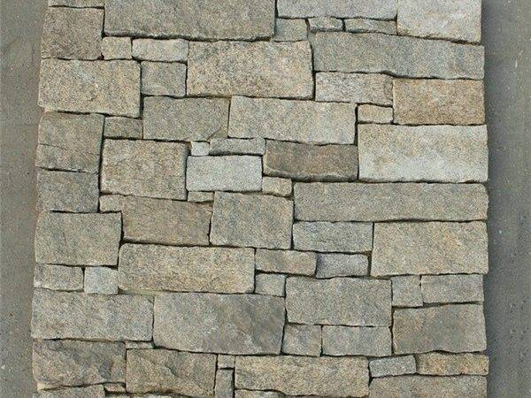 China Sandstone Cultured Stone Loose Pieces Wall