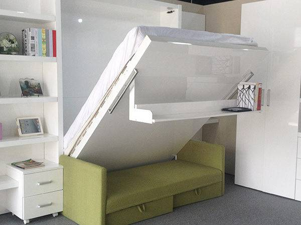 China Supplier Hidden Wall Bed Space Saving