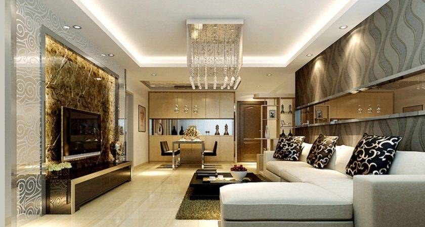 Chinese Modern Living Dining Room Design House