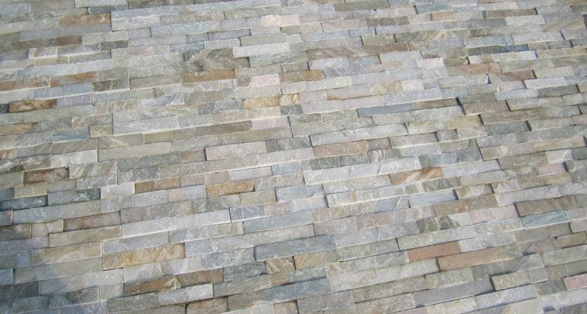 Chinese Rusty Black Multicolor Mix Color Slate Wall