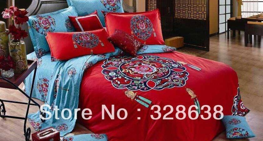 Chinese Tang Dynasty Bedding Comforter Sets Styles