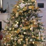 Chinoiserie Chic Gold Silver Tree