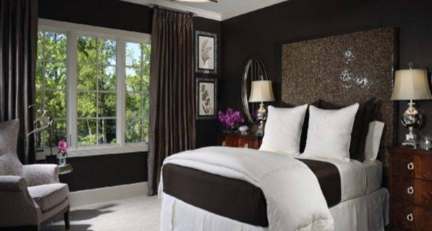 Chocolate Brown Bedroom Ideas White Blue