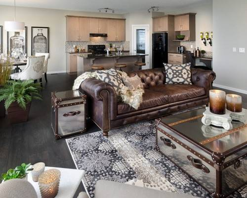 Chocolate Brown Couch Decorating Ideas