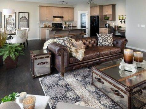 Chocolate Brown Sectional Couch Decoracion Pinterest