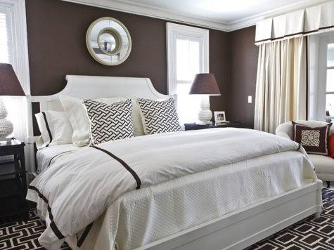 Chocolate Brown Walls Pinterest