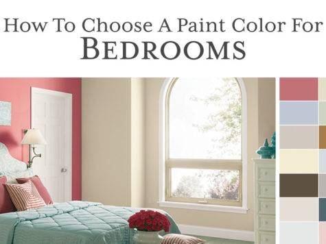 Choose Paint Color Bedroom