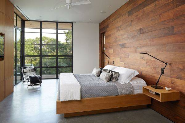 Choose Wood Accent Walls Warm Eye Catching Cor