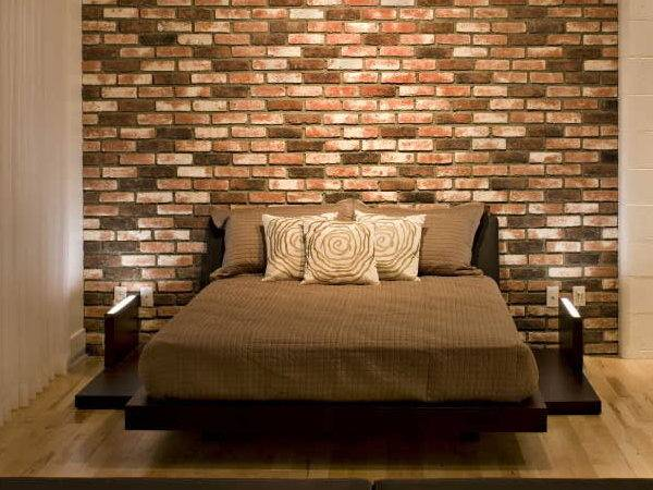 Choosing Materials Wall Behind Headboard