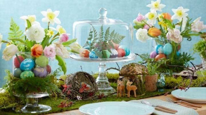Christian Easter Table Decorations