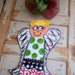 Christmas Angel Door Hanger