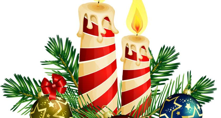 Christmas Candle Clip Art Cliparts