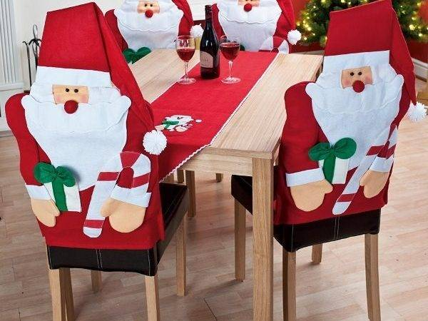Christmas Chair Decorations Thedivinechair