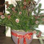 Christmas Container Outdoor Decoration Ideas