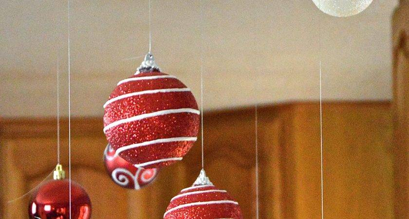 Christmas Decor Floating Ornaments Revamperate