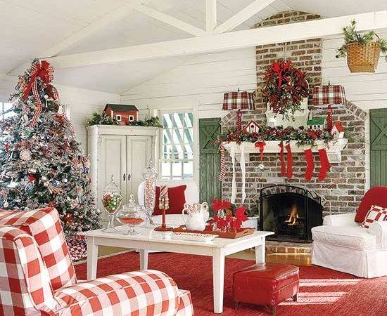 Christmas Decorating Decor Country Home
