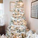 Christmas Decorating Ideas Blush Pink Gold Tree
