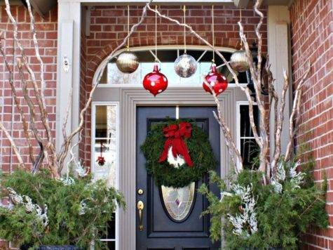 Christmas Decorating Ideas Porch Festival Around