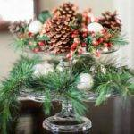Christmas Decoration Green Ideas Pine Cones