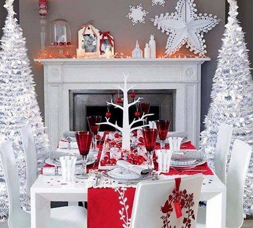 Christmas Decoration Ideas Dining Room