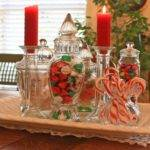 Christmas Decorations Dining Room Table Candy
