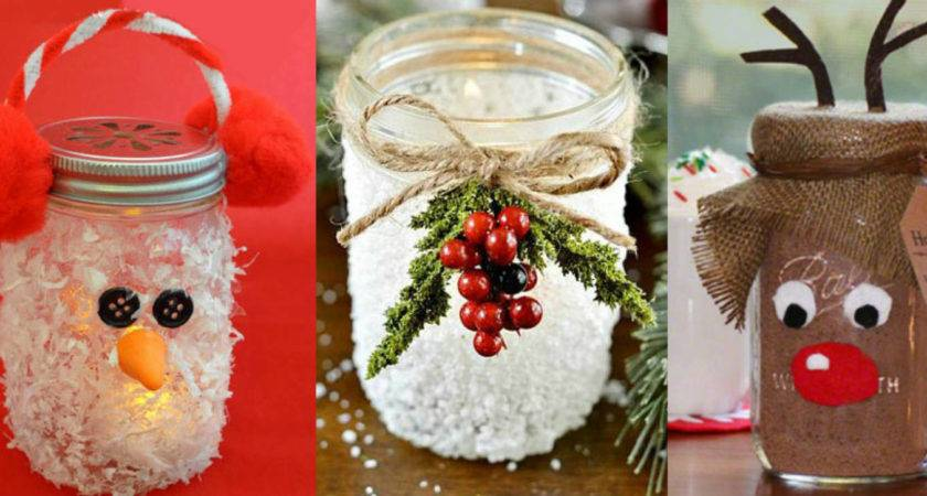 Christmas Decorations Made Empty Jars Every Day Inbox
