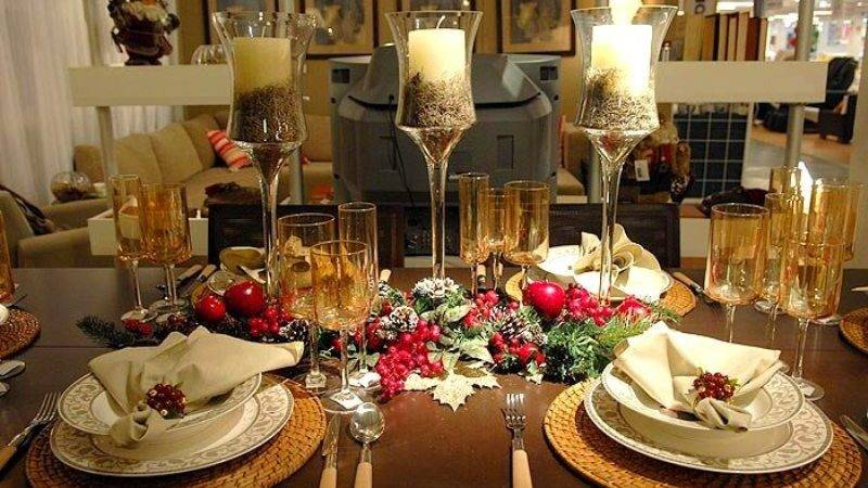 Christmas Dinner Table Decorations Minimal Interior Design