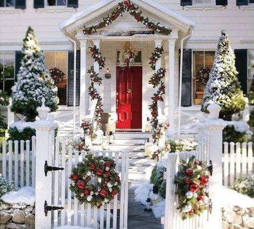 Christmas Door Decorating Ideas Home Trendy