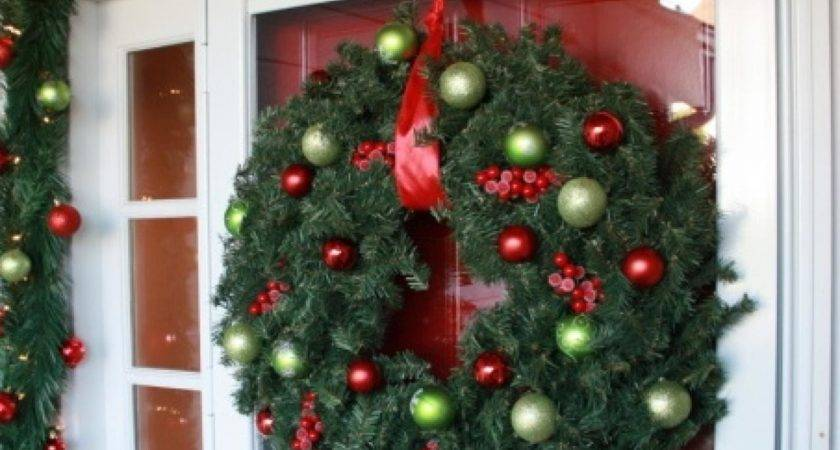 Christmas Door Decorations Interior Design Styles