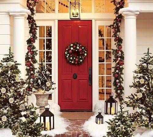 Christmas Front Porch Favething