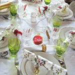 Christmas Lunch Table Setting Flickr Sharing