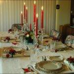 Christmas Lunch Table Setting Ideas Home Furniture