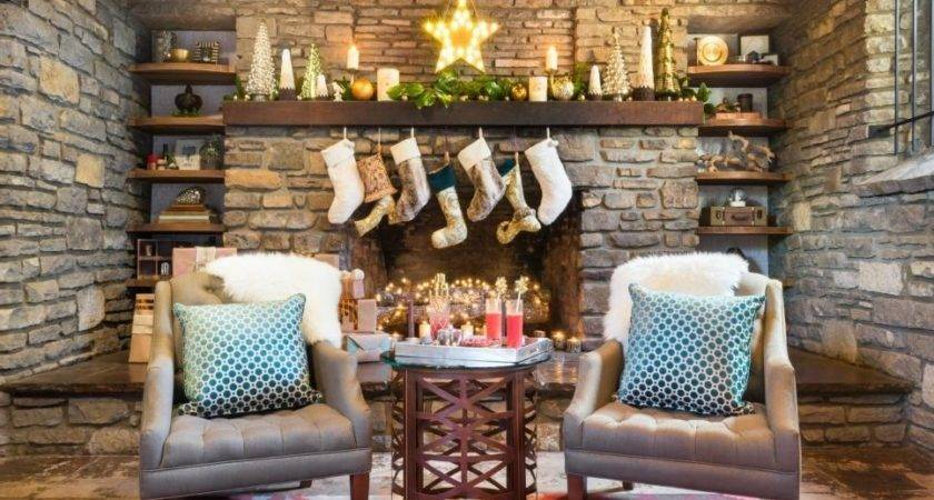 Christmas Mantel Decorating Ideas Hgtv Andrew Bingham