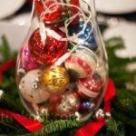 Christmas Ornament Centerpieces