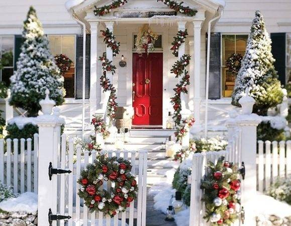 Christmas Outdoor Decorating Ideas Home