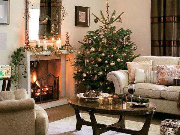 Christmas Pinterest Living Rooms Color