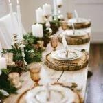 Christmas Series Table Setting Layout Ideas