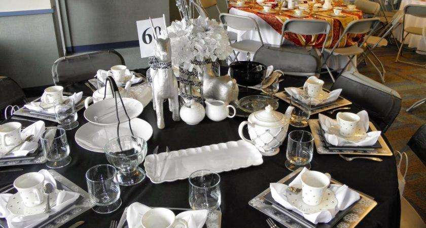 Christmas Table Decor Ideas Inmyinterior White Imanada