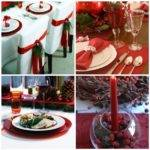 Christmas Table Decorating Ideas Modern World Furnishing