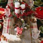 Christmas Table Decoration Ideas Settings