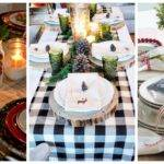 Christmas Table Decorations Centerpieces Ideas