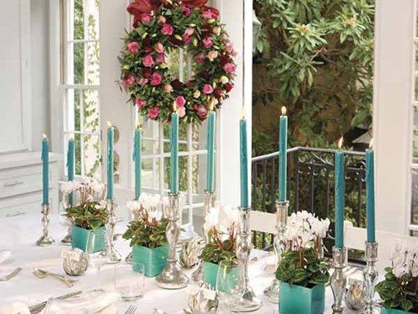 Christmas Table Decorations Ideas Holiday