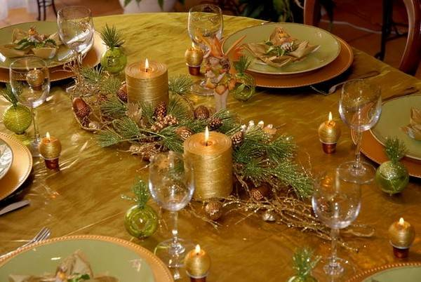 Christmas Table Decorations Inspirational Ideas