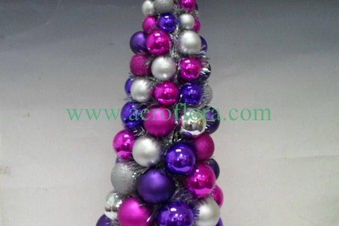 Christmas Table Decorations Purple Silver Quot Becky