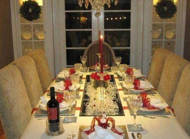 Christmas Table Setting Decoration Ideas