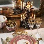 Christmas Table Settings Ideas Interior